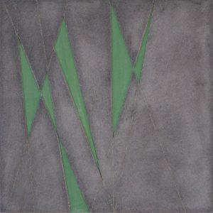 2003 Aquarell und Graupappe, gewachst50 x 50 x 3 cm