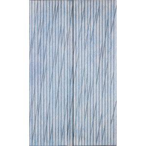 An einem Nebeltag — Homage to Agnes Martin2004Wachs auf Aquarell auf Karton auf Holzje 50 x 30 cm