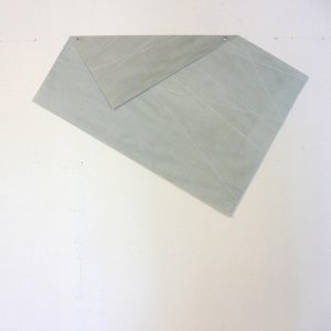 2009 Aquarell gewachst gefaltet, ca. 60 x 40 cm