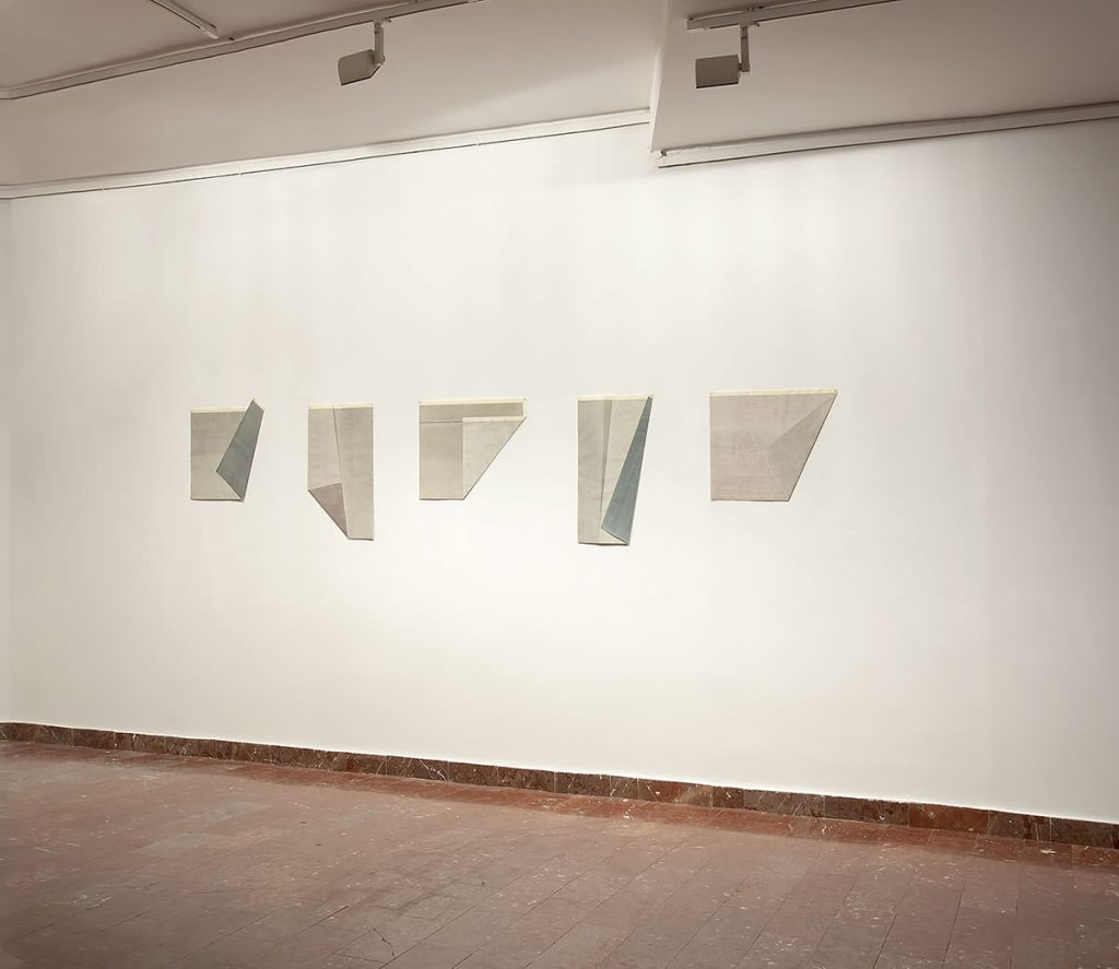 Fritz Ruprechter New works exhibition at Gallery 73, Belgrade, Serbia