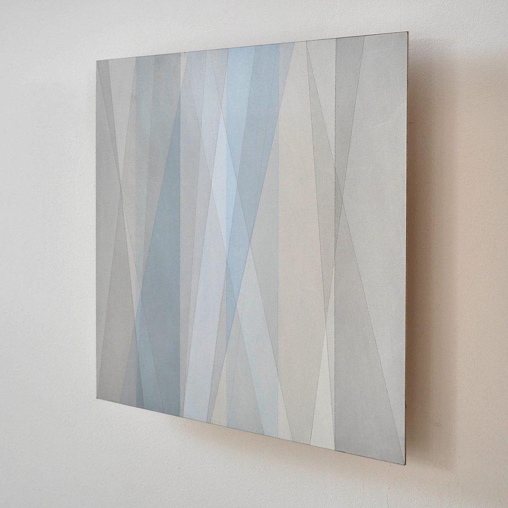2015 Aquarell und Lack auf Hartfaser, 60 x 80 x 5 cm